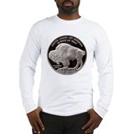 Silver Buffalo-Indian Long Sleeve T-Shirt