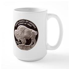 Silver Indian-Buffalo Mug