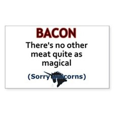 Bacon is Magic Decal