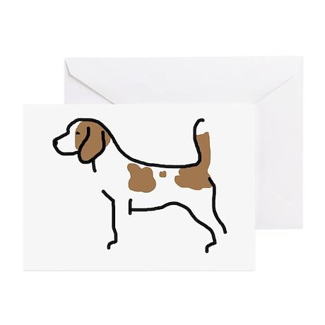 Beagle II Greeting Cards (Pk of 10)