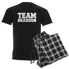 TEAM BRANDON pajamas