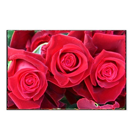 Roses Roses Postcards (Package of 8)