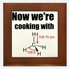 Now Were Cooking With Gas! Framed Tile