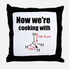 Now Were Cooking With Gas! Throw Pillow