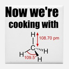 Now Were Cooking With Gas! Tile Coaster