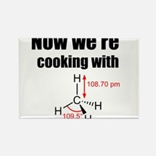 Now Were Cooking With Gas! Rectangle Magnet