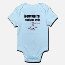 Now Were Cooking With Gas! Infant Bodysuit
