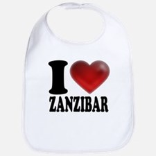 I Heart Zanzibar Bib