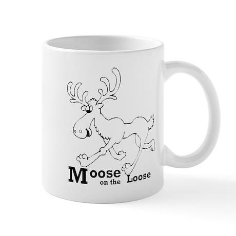 MooseOnTheLoose Mugs