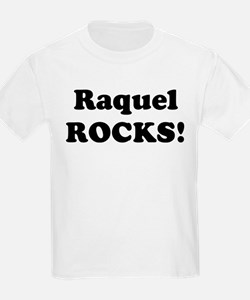 Raquel Rocks! Kids T-Shirt
