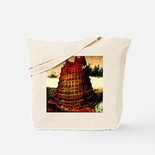 Tower of Babel Bruegel 1563 Tote Bag