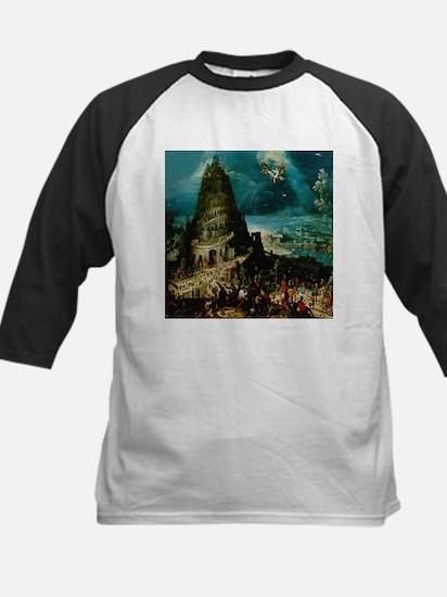 Tower of Babel Hendrich van d Kids Baseball Jersey