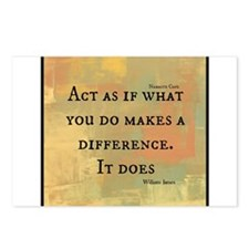 You Make a Difference Postcards (Package of 8)
