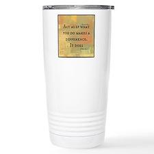 You Make a Difference Travel Mug