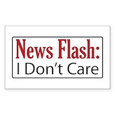 news flash Decal