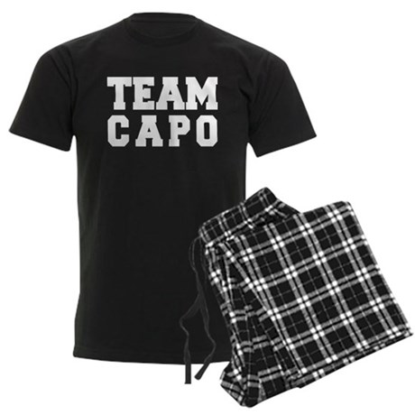 TEAM CAPO Men's Dark Pajamas