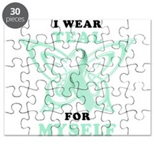 I Wear Teal for Myself.png Puzzle
