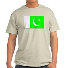 Pakistan Ash Grey T-Shirt