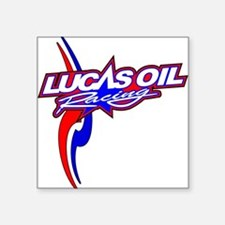 "Lucas Oil Racing Square Sticker 3"" x 3"""