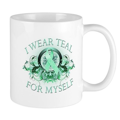 I Wear Teal for Myself Mug