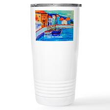 Chios Harbor Travel Mug