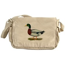 Mallard Duck Drake Messenger Bag