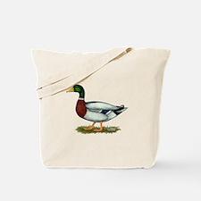 Mallard Duck Drake Tote Bag