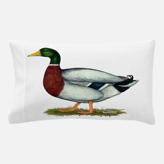 Mallard Duck Drake Pillow Case