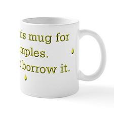 Funny saying urine samples Coffee Small Mug