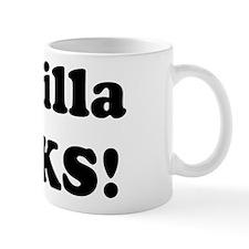 Priscilla Rocks! Mug