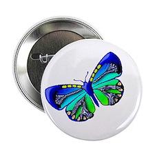 Blue Green Jewel Button