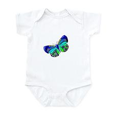 Blue Green Jewel Infant Bodysuit