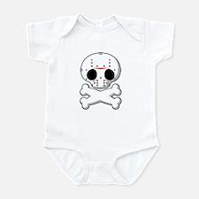 Hockey Mask Killer Infant Bodysuit