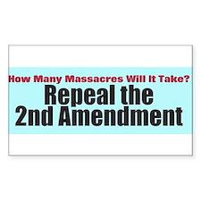 Repeal the Second Amendment Decal