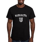 Wassamatta U Men's Fitted T-Shirt (dark)