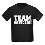 Davidson Kids T-shirts (Dark)
