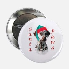 "Dalmatian(liver) Paws 2.25"" Button"