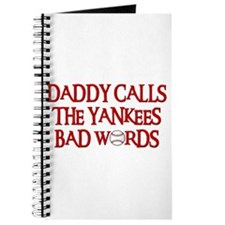 Daddy Calls The Yankees Bad Words Journal