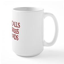 Daddy Calls The Yankees Bad Words Mug