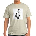Jackass Penguin Art Ash Grey T-Shirt