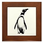 Jackass Penguin Art Framed Tile