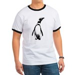 Jackass Penguin Art Ringer T