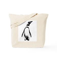 Jackass Penguin Art Tote Bag