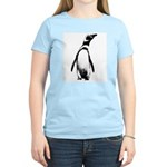 Jackass Penguin Art Women's Pink T-Shirt