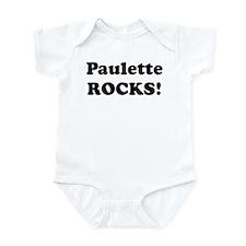 Paulette Rocks! Infant Bodysuit