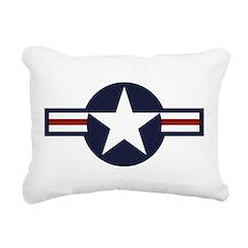 USAF roundel Rectangular Canvas Pillow