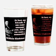 At Last My Friends - William Gladstone Drinking Gl
