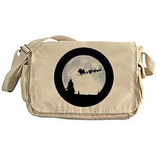 Christmas Moon Messenger Bag