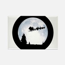 Christmas Moon Rectangle Magnet (100 pack)