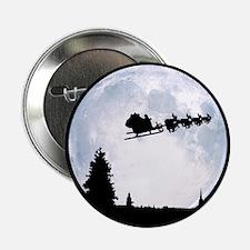 """Christmas Moon 2.25"""" Button"""